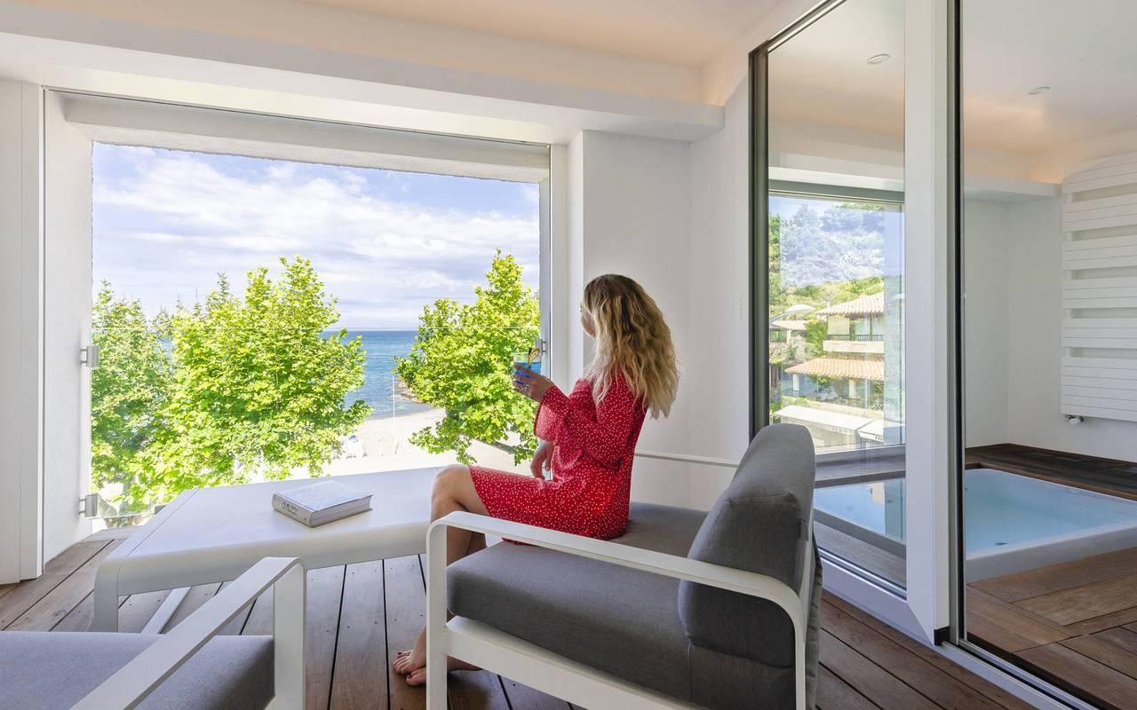 Hotel banyuls sur mer pres de colioure